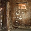 Stock Photo: Dirty jail cell