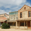 Wooden buildings in an old American western town — Stock Photo #32028499