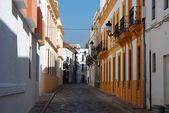 Street in the Spanish town Tarifa — 图库照片