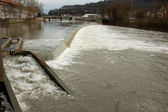 Weser River in Hamelin, Germany — Stock Photo