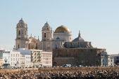The Cathedral in Cadiz, southern Spain — Stock Photo