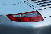 Sports Car backside signal light — Stock Photo