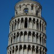 Stock Photo: The leaning tower of Pisa, Italy