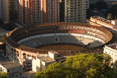 Plaza de Toros (bullring) in Malaga, Spain — Stock Photo