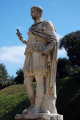 Ancient roman statue in Florence, Italy — Stock Photo