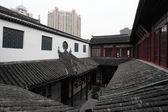 Buddhist temple in Shanghai, China — Stock Photo