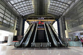 Escalator in the Super Brand Mall, Pudong, Shanghai, China — Stock Photo