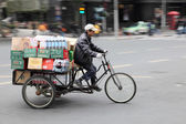 Typical vehicle in Shanghai, China — Stock Photo