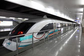 Maglev Train at the airport station in Shanghai, China — Stock Photo