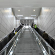 Escalator in the Metro of Shanghai, China — Stock Photo