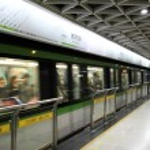 Metro station in Shanghai, China — Stock Photo #32595221