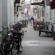 Street in the old town of Shanghai, China — Stock Photo