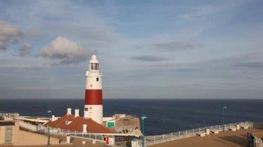 灯塔在直布罗陀 — 图库视频影像