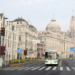 Stock Photo: Riverfront boulevard - the Bund in Shanghai, China