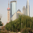 Highrise buildings in Pudong, Shanghai, China — Photo
