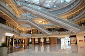 Interior of the IFC Shopping Mall in Pudong, Shanghai, China — Stock Photo