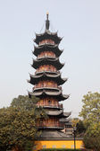 Pagoda at the Longhua Temple in Shanghai, China — Stock Photo