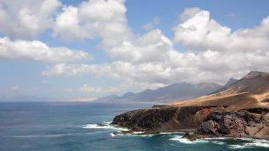 Canary Island Fuerteventura, Spain — Stock Video