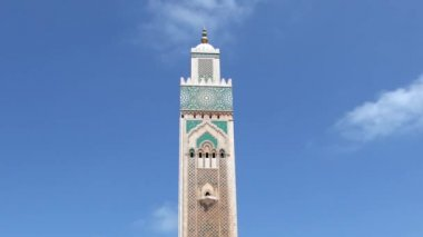 Grand Mosque of Hassan II in Casablanca, Morocco — Wideo stockowe