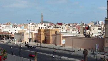 United Nations Square in Casablanca, Morocco — Stock Video
