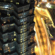 Stock Photo: Jin Mao tower in Shanghai at night, China