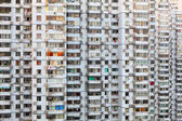 Residential building facade in Shanghai, China — Stock Photo
