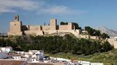 Moorish castle Alcazaba in Andalusian town Antequera, Spain — Stock Photo