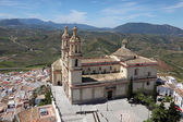 Cathedral of Olvera, Andalusia, Spain — Foto Stock