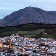 Old town of Antequera at dusk. Andalusia, Spain — Stock Photo