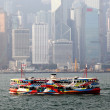 Star Ferry Boat in Hong Kong harbour — Stock Photo