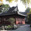 Traditional chinese architecture in Yuyuan Garden, Shanghai China — Stock Photo