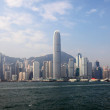 Skyline of Hong Kong — Stock Photo