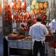 Stock Photo: Roasted ducks in street restaurant in Hong Kong