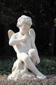 翼のある天使の像 — ストック写真