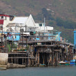 Stock Photo: Tai O fishing village on Lantau Island. Hong Kong, China