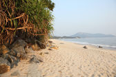 Beautiful beach on Lantau Island, Hong Kong, China — Stock Photo