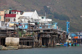 Tai O fishing village on Lantau Island. Hong Kong, China — Stock Photo