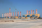 Power plant in Qatar, Middle East — Stock Photo