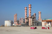 Power station plant in Muharraq. Bahrain, Middle East — Stock Photo