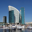 Stock Photo: Hotel Intercontinental in Dubai Festival City. United Arab Emirates