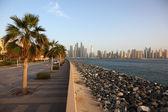 Strandpromenaden på palm jumeirah. Förenade Arabemiraten — Stockfoto