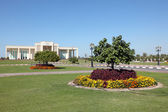Faculty of law at Sharjah University, United Arab Emirates — Stock Photo