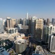 Stock Photo: Dubai Marina high angle view. United Arab Emirates