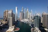 Dubai Marina. United Arab Emirates — Stock Photo
