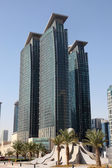 Skyscraper downtown in Doha, Qatar, Middle East — Stock Photo