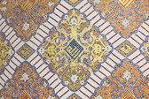 Islamic mosaic decoration in Doha, Qatar, Middle East — Stock Photo