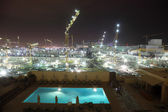 Construction site in the ctiy of Doha, Qatar, Middle East — Stock Photo