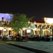 Restaurant in Souq Waqif at night. Doha, Qatar, Middle East — Stock Photo #41227149