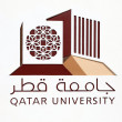 Stock Photo: Qatar University Logo. Doha, Qatar, Middle East