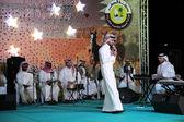 Qatari music group performing in Doha, Qatar, Middle East — Stock Photo